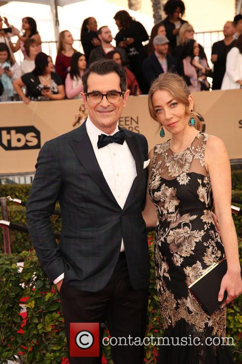 Ty Burrell and Holly Burrell 6