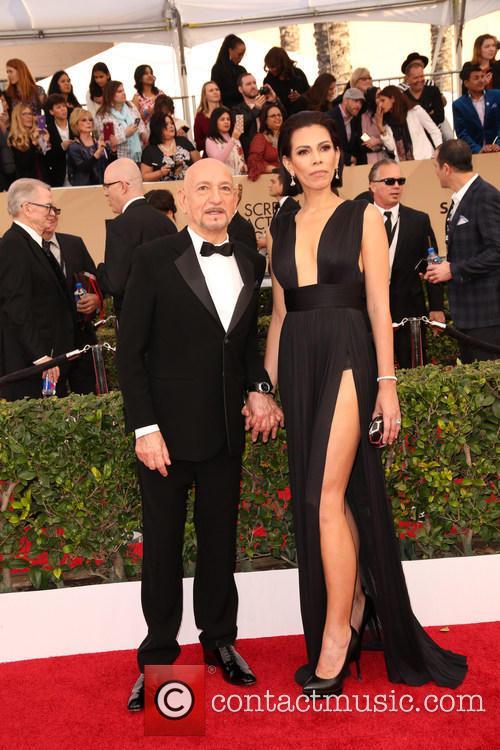 Ben Kingsley and Daniela Lavender 1