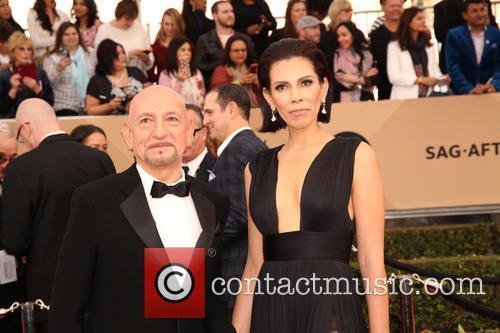 Ben Kingsley and Daniela Lavender 3