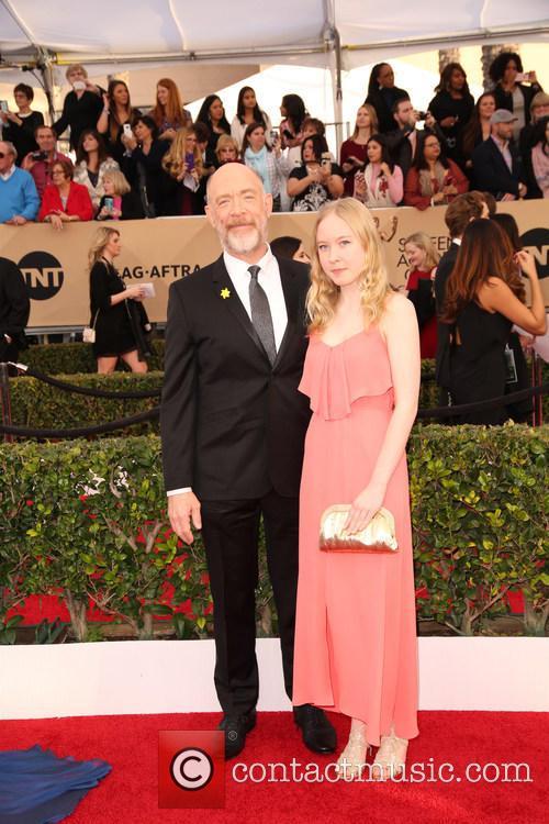 J.k. Simmons and Olivia Simmons 1