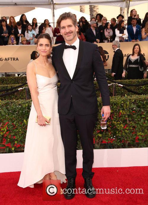 Amanda Peet and David Benioff 11
