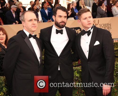 Kevin Doyle, Tom Cullen and Allen Leech 1