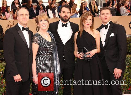 Kevin Doyle, Phyllis Logan, Tom Cullen, Raquel Cassidy and Allen Leech 2