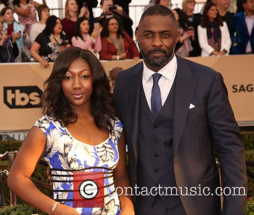 Isan Elba and Idris Elba 2