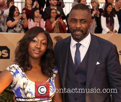 Isan Elba and Idris Elba 3