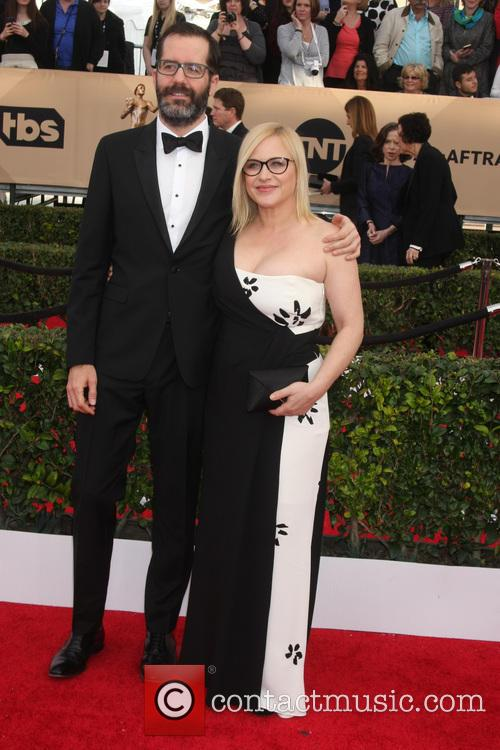 Patricia Arquette and Eric White 1