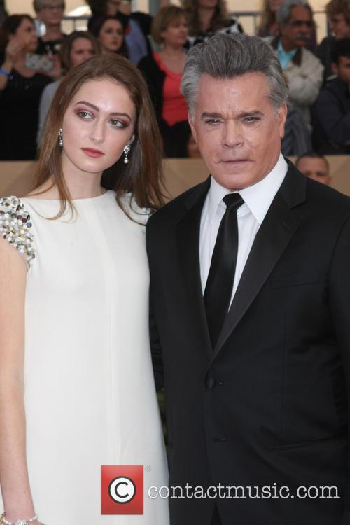 Ray Liotta and Daughter 3