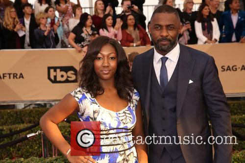 Isan Elba and Idris Elba 5