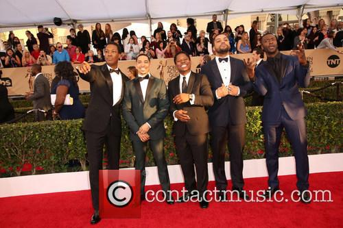 Corey Hawkins, Neil Brown Jr., Jason Mitchell, O'shea Jackson Jr. and Aldis Hodge