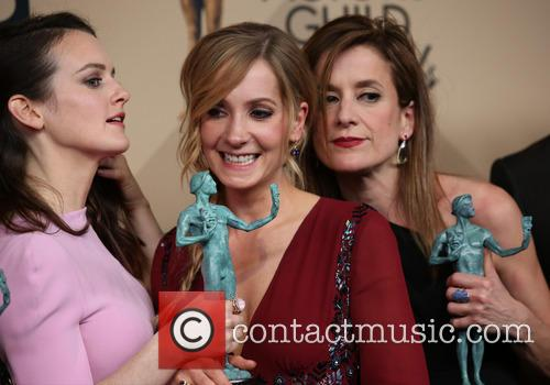 Sophie Mcshera, Joanne Froggatt and Raquel Cassidy 1