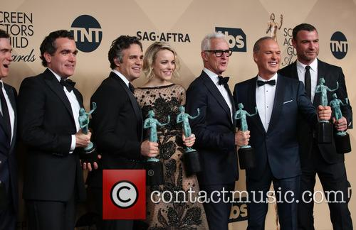 Billy Crudup, Brian D'arcy James, Mark Ruffalo, Rachel Mcadams, John Slattery, Michael Keaton and Liev Schreiber 1