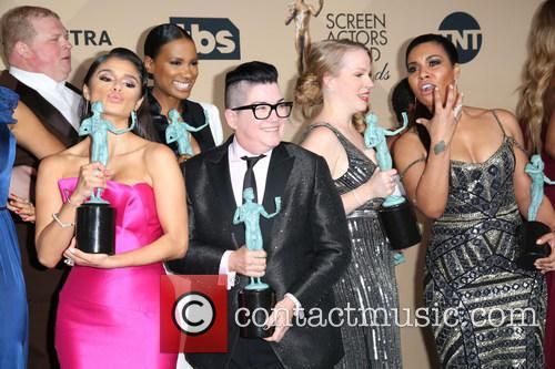 Diane Guerrero, Lea Delaria and The Cast Of Orange Is The New Black 1