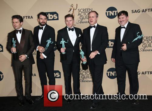 Julian Ovenden, Tom Cullen, Allen Leech, Kevin Doyle and Jeremy Swift 1