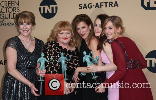 Phyllis Logan, Lesley Nicol, Sophie Mcshera, Joanne Froggatt and Raquel Cassidy 3