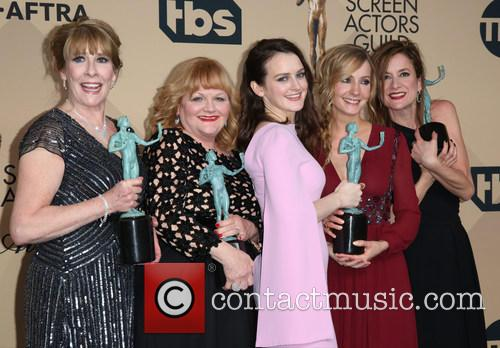 Phyllis Logan, Lesley Nicol, Sophie Mcshera, Joanne Froggatt and Raquel Cassidy 4