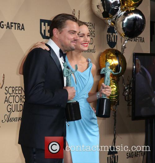 Leonardo Dicaprio and Brie Larson 5