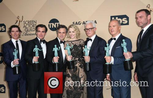 Billy Crudup, Brian D'arcy James, Mark Ruffalo, Rachel Mcadams, John Slattery, Michael Keaton and Liev Schreiber 7