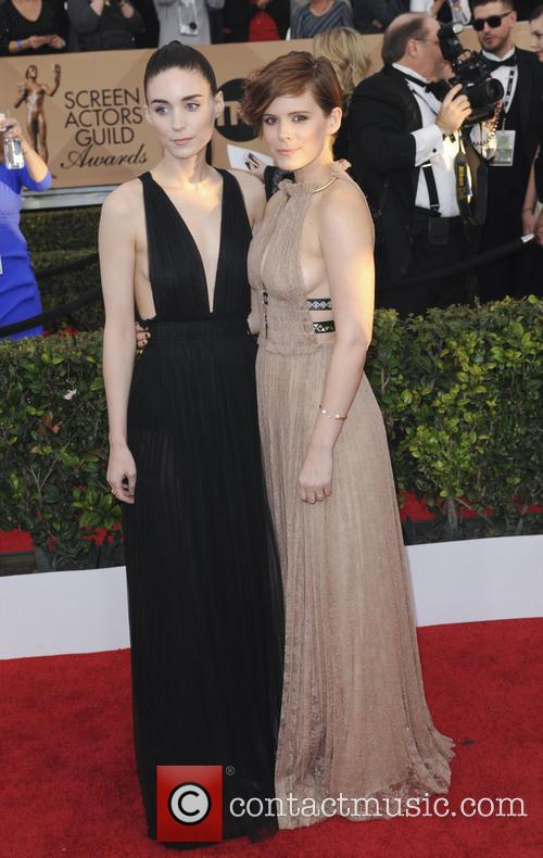 Rooney Mara and Kate Mara 1