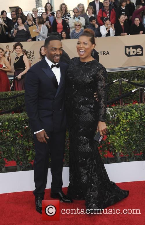 Anthony Mackie and Queen Latifah 3