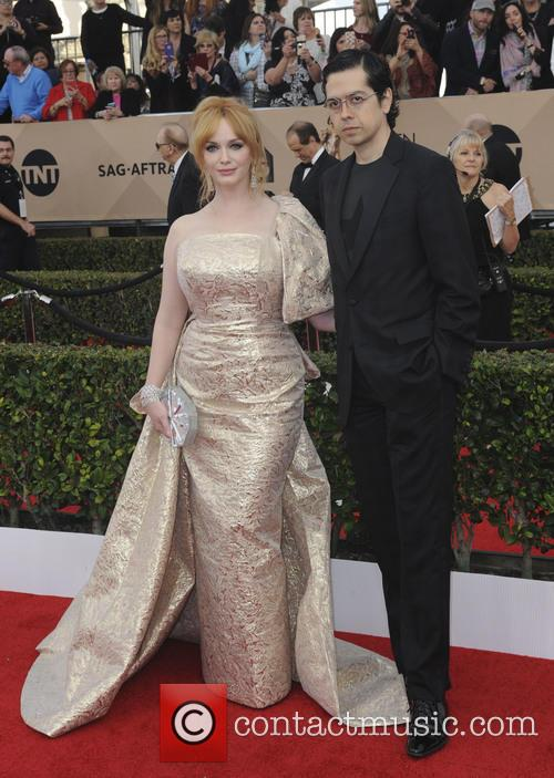 Geoffrey Afrend and Christina Hendricks 1