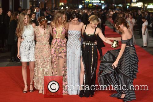 Lily James, Bella Heathcote, Ellie Bamber, Suki Waterhouse and Millie Brady 8