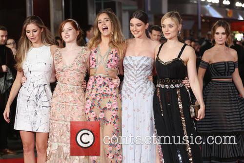 Hermione Corfield, Ellie Bamber, Suki Waterhouse, Millie Brady, Bella Heathcote and Lily James 5