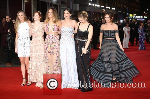 Hermione Corfield, Ellie Bamber, Suki Waterhouse, Millie Brady, Bella Heathcote and Lily James 6