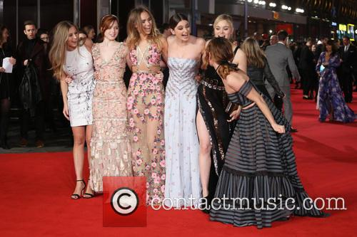 Hermione Corfield, Ellie Bamber, Suki Waterhouse, Millie Brady, Bella Heathcote and Lily James 7