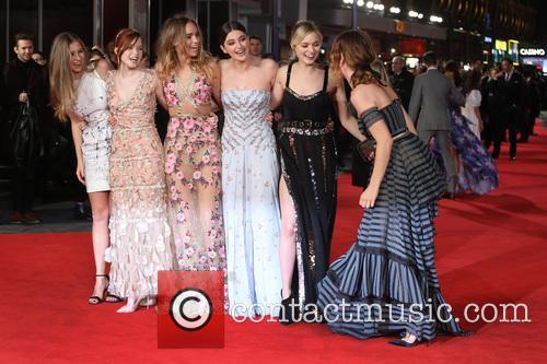 Hermione Corfield, Ellie Bamber, Suki Waterhouse, Millie Brady, Bella Heathcote and Lily James 8