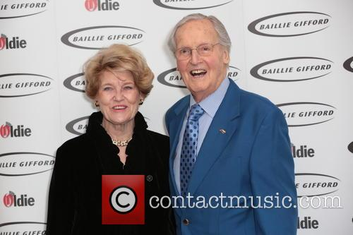 Nicholas Parsons and Radio/television Producer 3