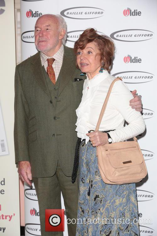 Prunella Scales (winner - Bargees Of The Year) and Timothy West 2