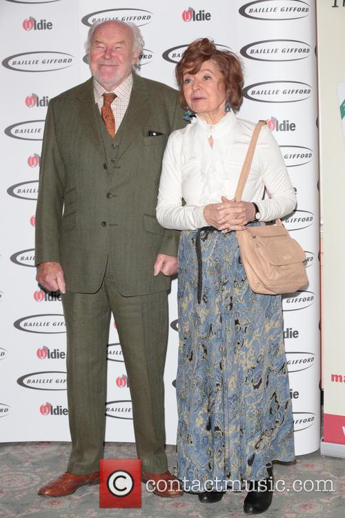Prunella Scales (winner - Bargees Of The Year) and Timothy West 3