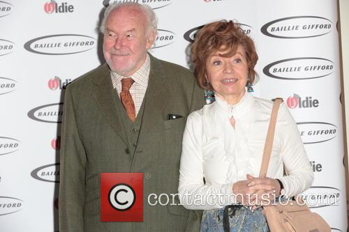 Prunella Scales (winner - Bargees Of The Year) and Timothy West 4