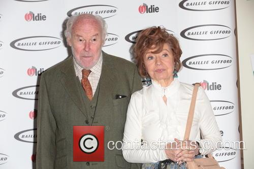 Prunella Scales (winner - Bargees Of The Year) and Timothy West 5