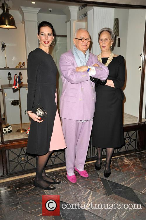 Manolo Blahnik and His Sister Evangelina 5