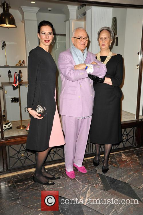 Manolo Blahnik and Sister His  Evangelina 6