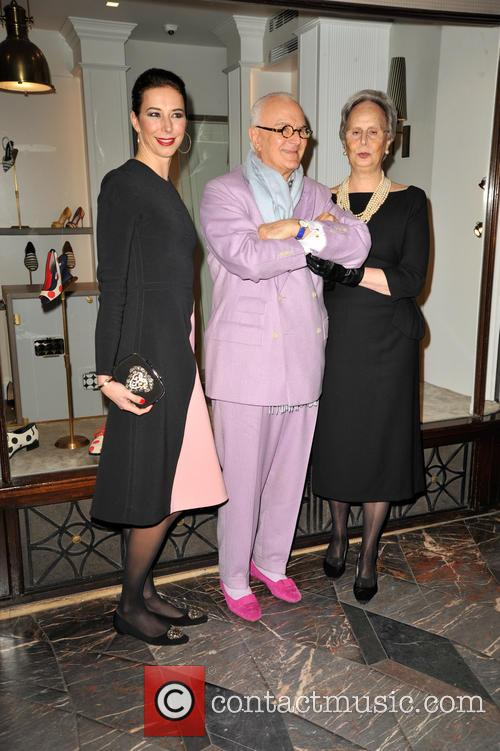 Manolo Blahnik and His  Sister Evangelina 7