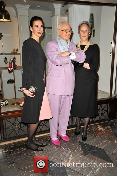 Manolo Blahnik and His Sister Evangelina 8