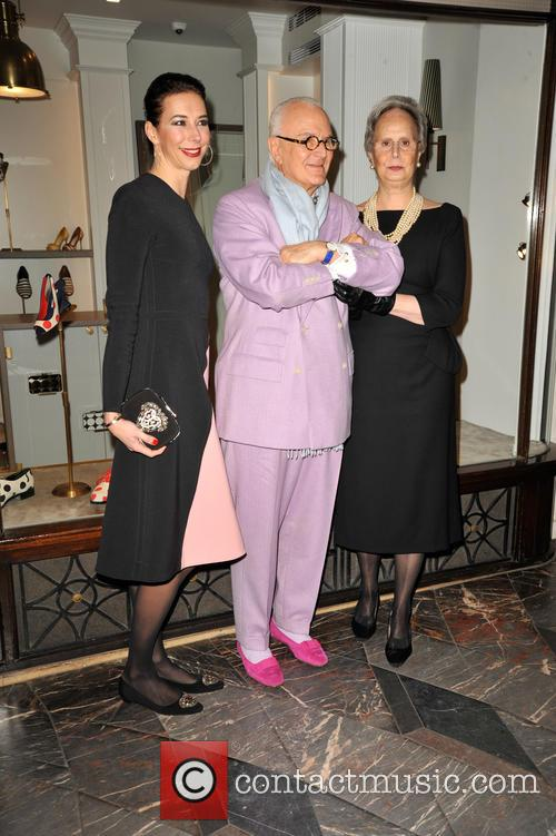 Manolo Blahnik and His Sister Evangelina 9