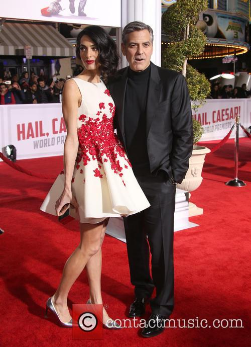 Amal Clooney and George Clooney 3