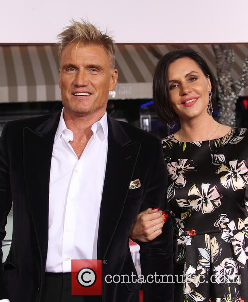 Dolph Lundgren and Jenny Sandersson 3