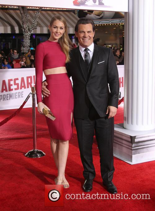 Kathryn Boyd and Josh Brolin 2