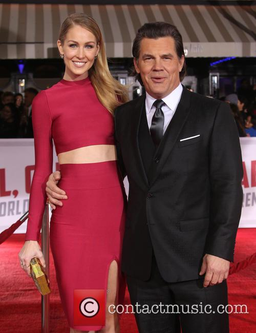 Kathryn Boyd and Josh Brolin 4
