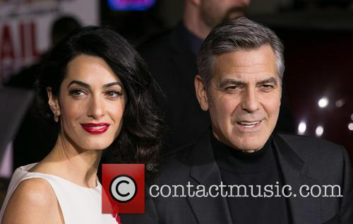 Amal Clooney and George Clooney 1