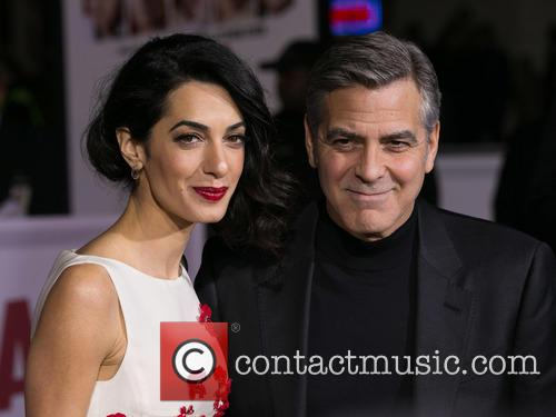 Amal Clooney and George Clooney 2