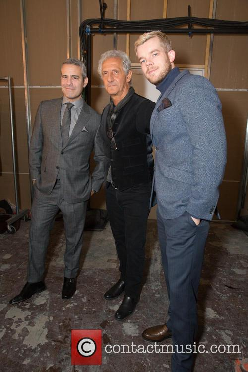 Andy Cohen, Joseph Abboud and Russell Tovey 1