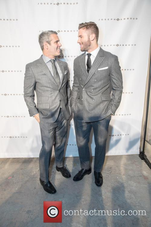 Andy Cohen and Julian Edelman 2