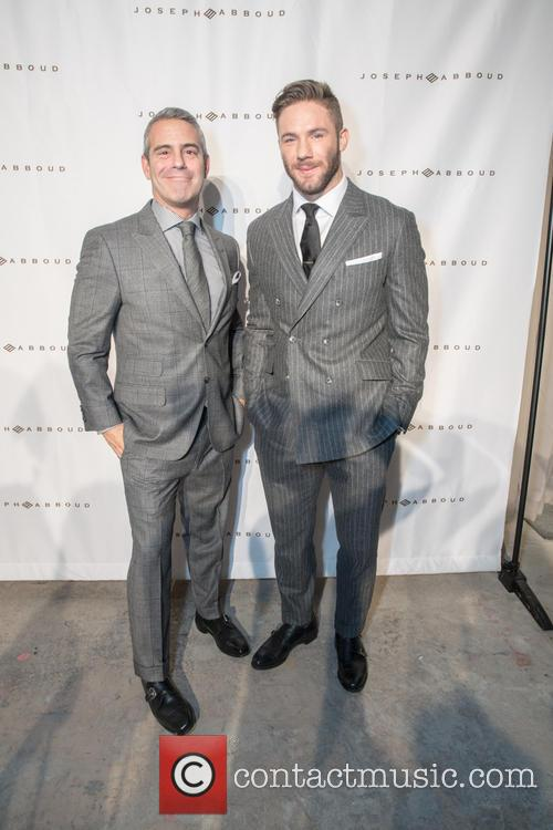 Andy Cohen and Julian Edelman 4