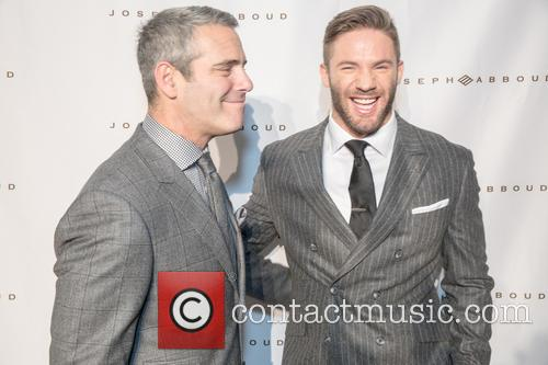 Andy Cohen and Julian Edelman 8