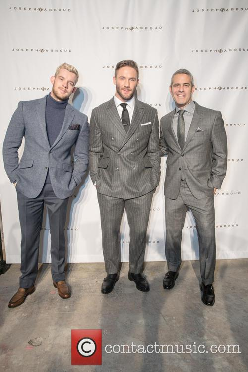 Russell Tovey, Julian Edelman and Andy Cohen 2